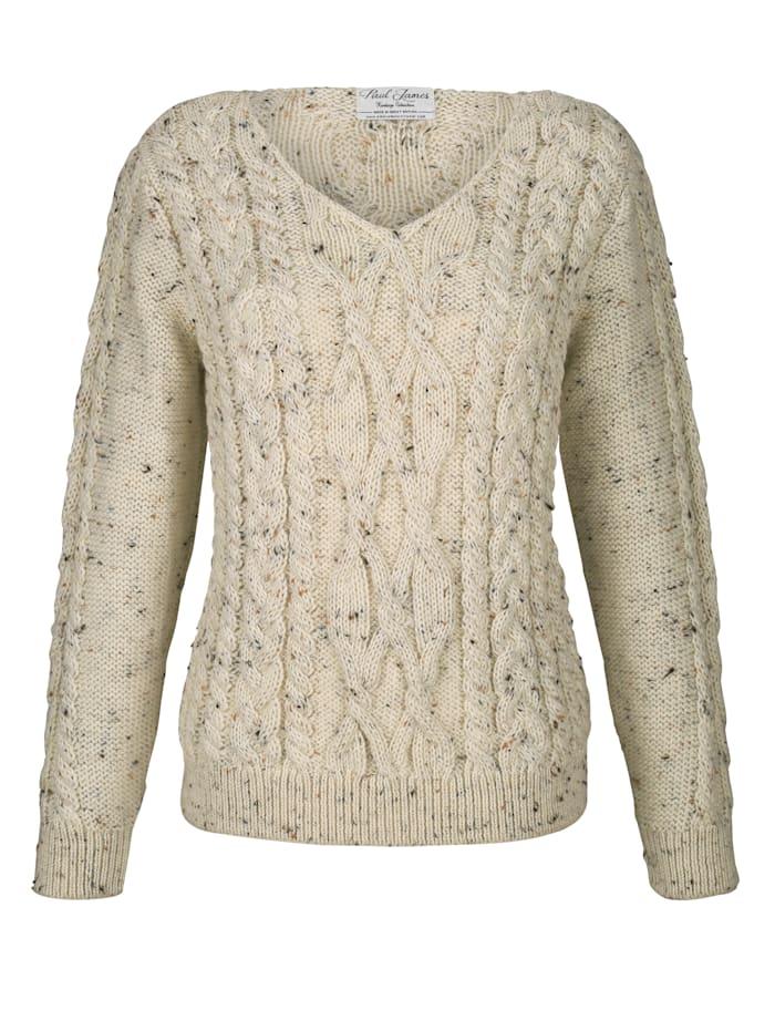 Pullover aus reiner British Wool