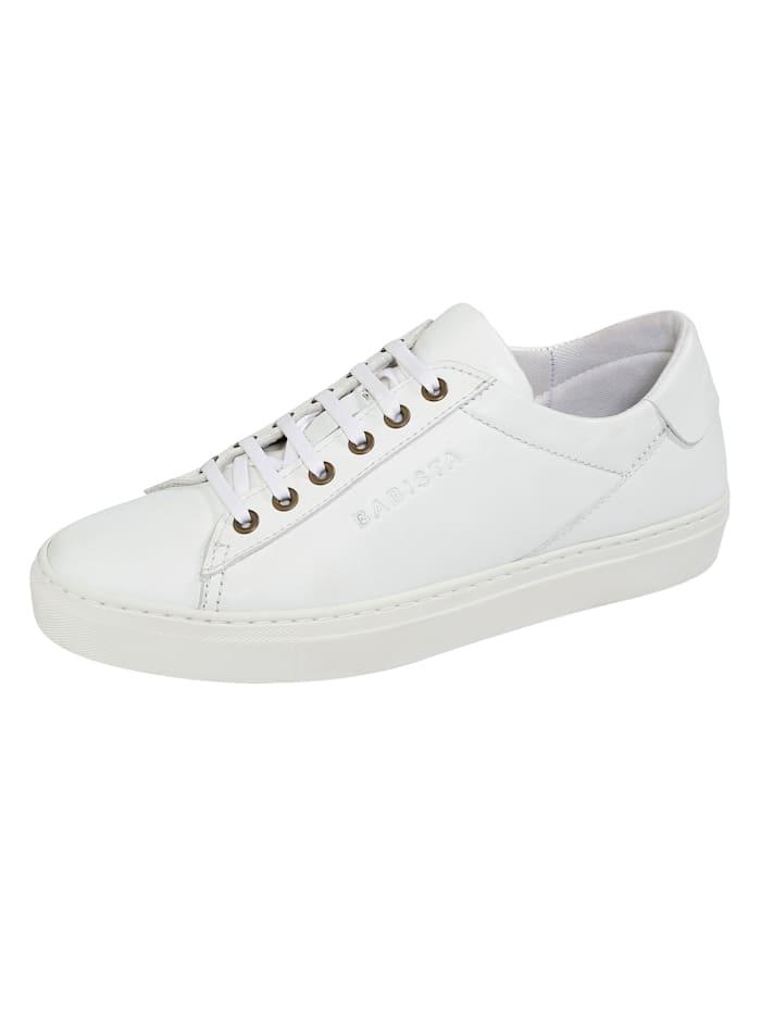 BABISTA Sneaker met uitneembaar voetbed, Wit