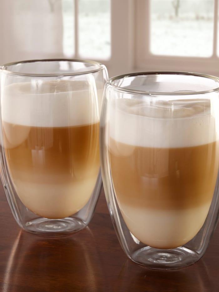2 latte macchiato-glass