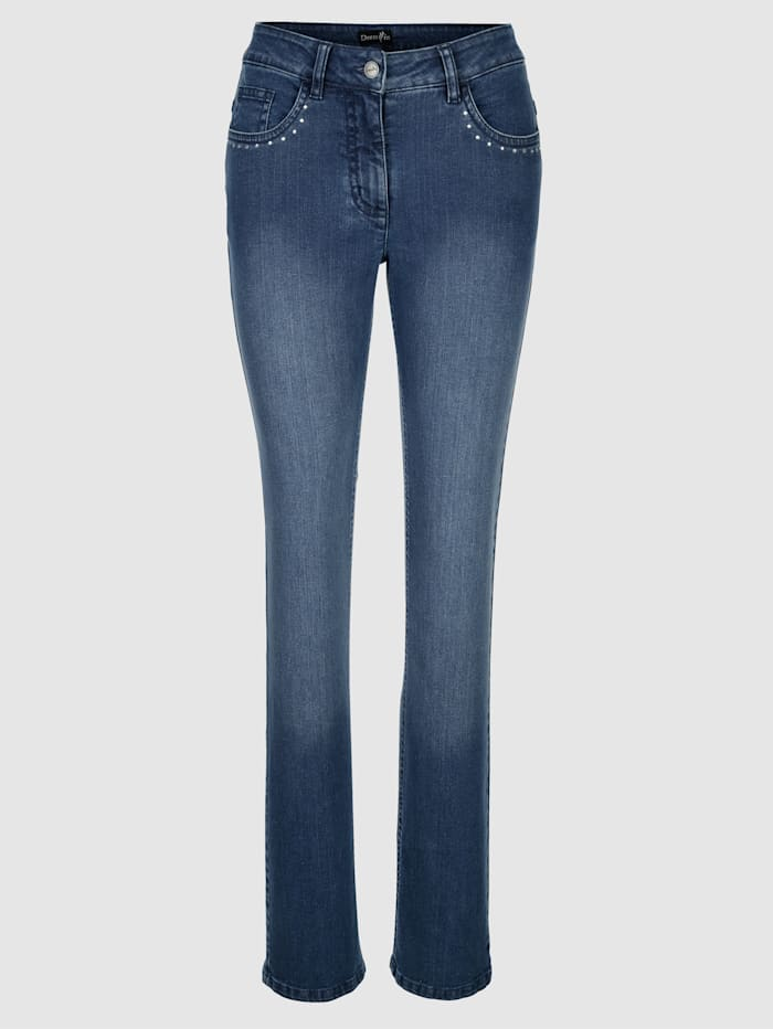 Pantalon Laura Straight