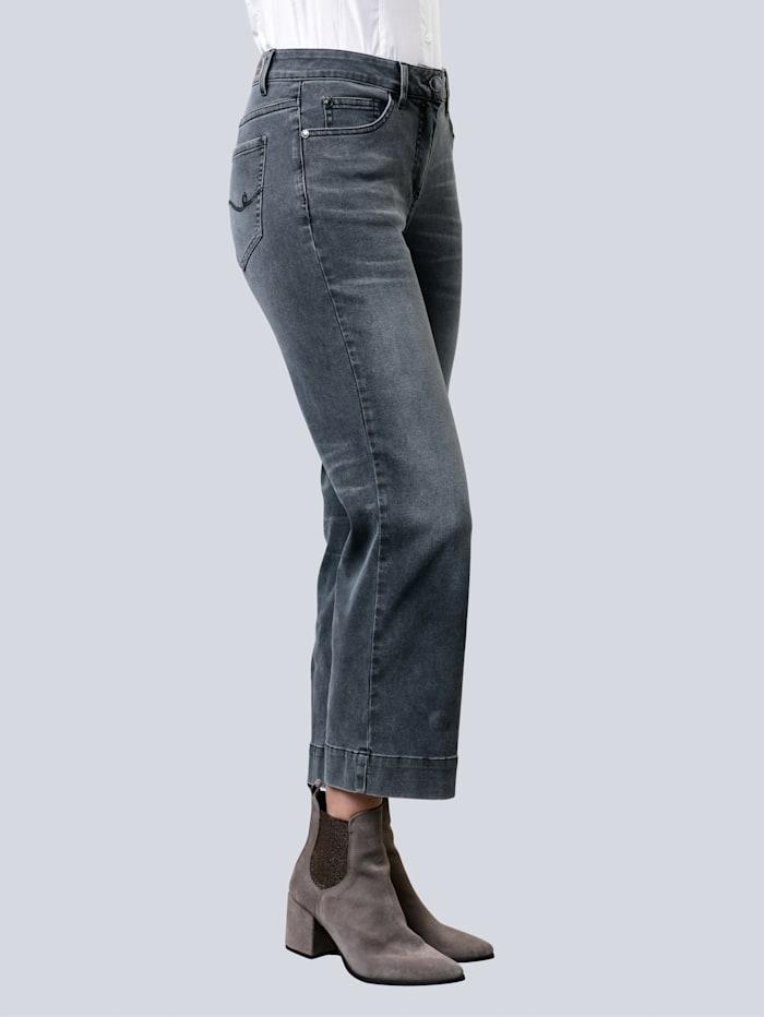 Alba Moda Jeans i kulottefasong, Grey