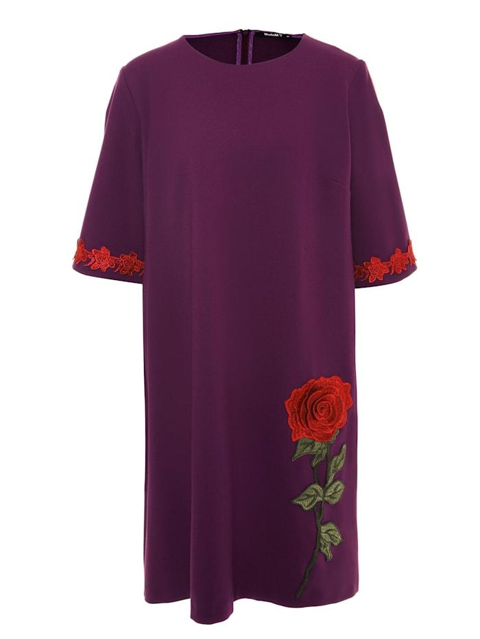 Madam-T Shirtkleid Milanesa, lila