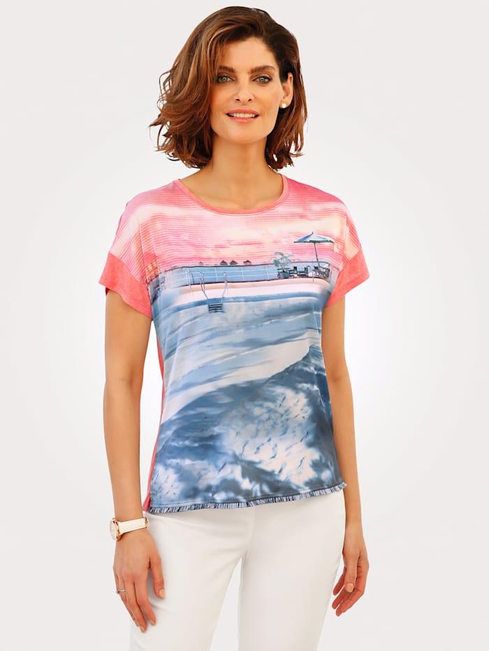 T-shirt à motif esprit piscine