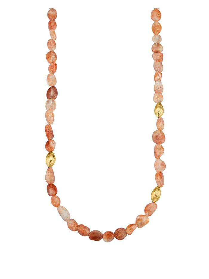 Diemer Farbstein Sonnenstein-Kette, Orange