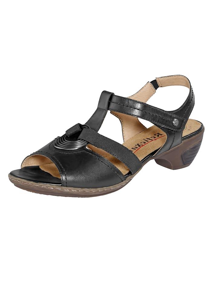 Reflexan Sandals, Black