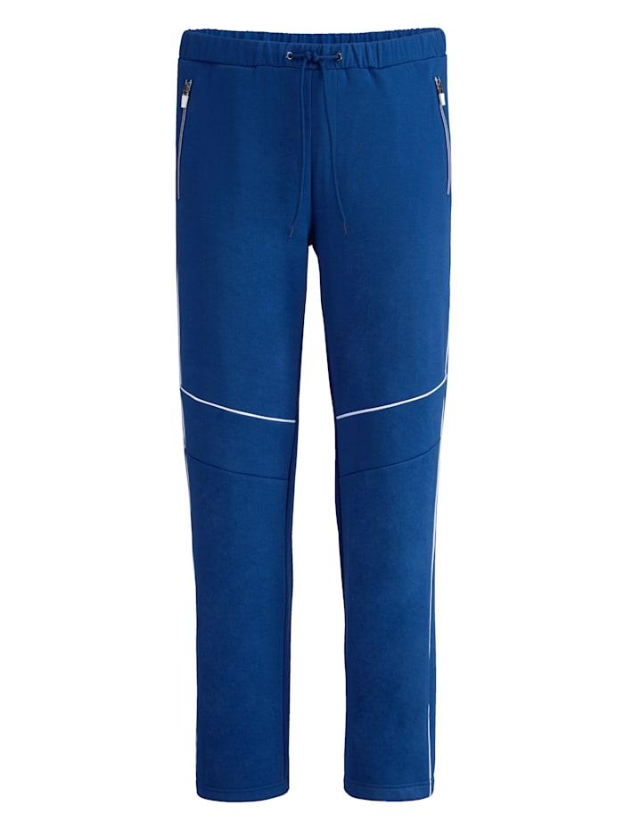 BABISTA Pantalon de survêtement en matière facile d'entretien, Bleu roi