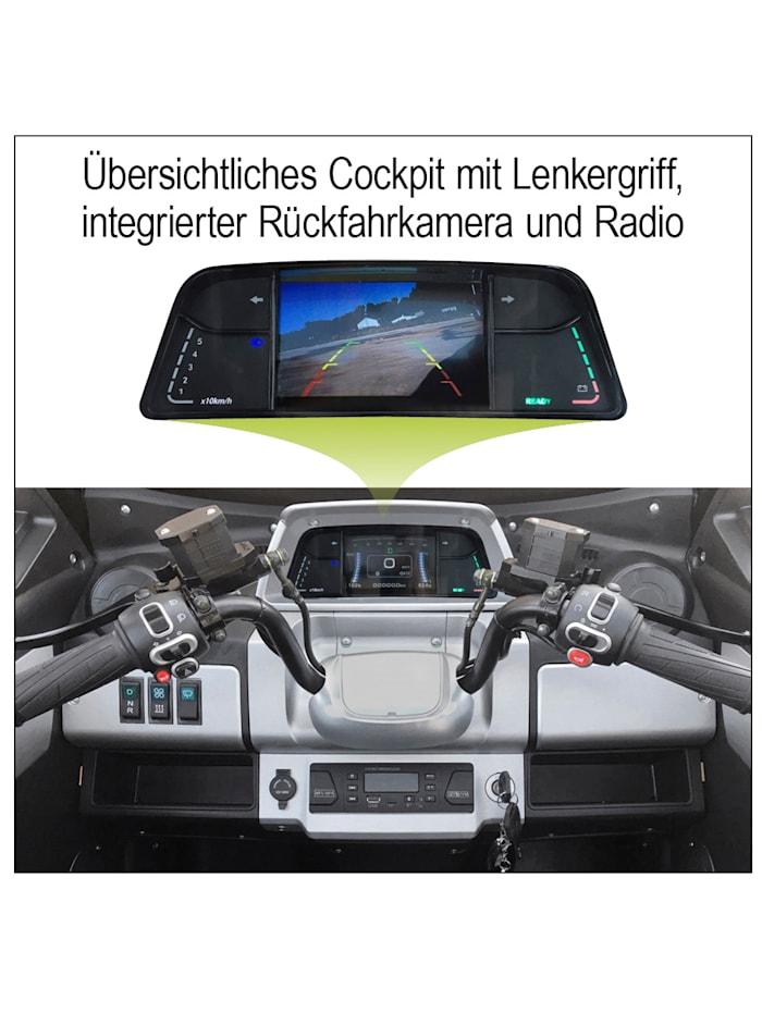 "Didi Thurau Edition Elektro Kabinenroller ""eLizzy Premium """