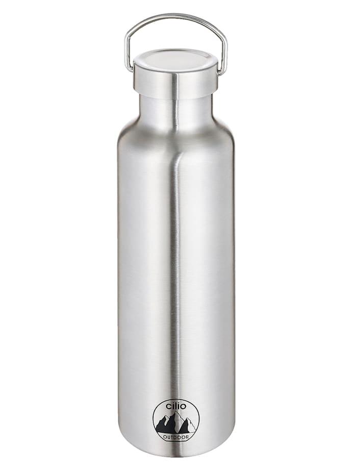 Cilio Thermosfles GRIGIO, 750 ml, zilverkleur (rvs)
