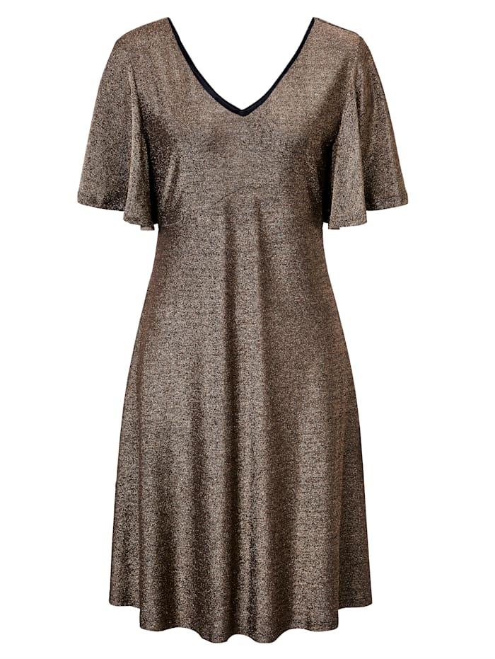 Cream Kleid, Goldfarben