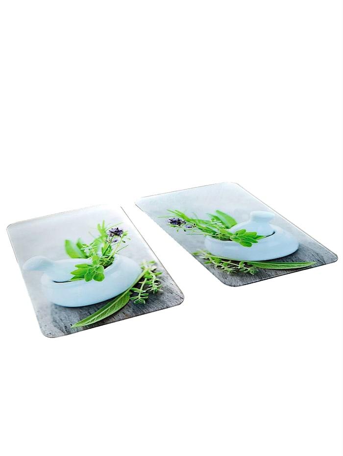2 komfyrdekkplater