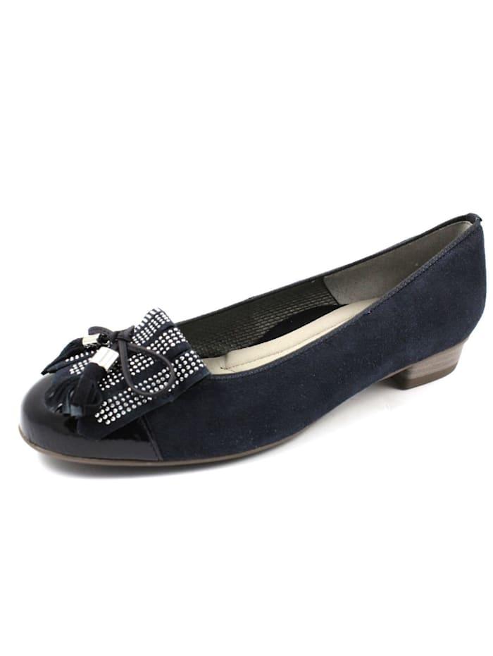 Ara Ballerinas, schwarz
