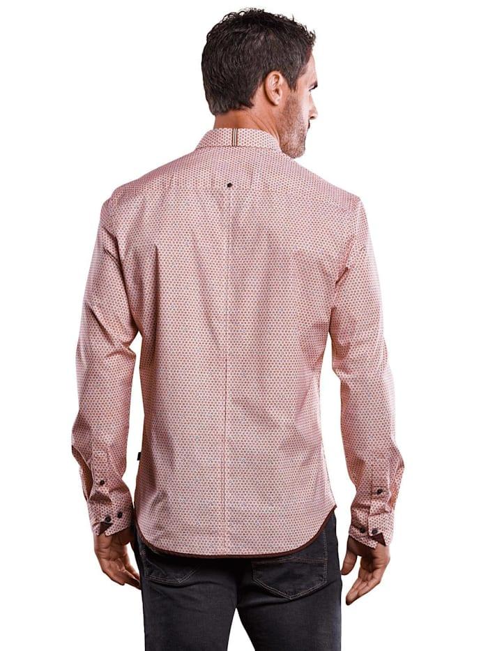 Gemustertes Hemd Comfort-Stretch