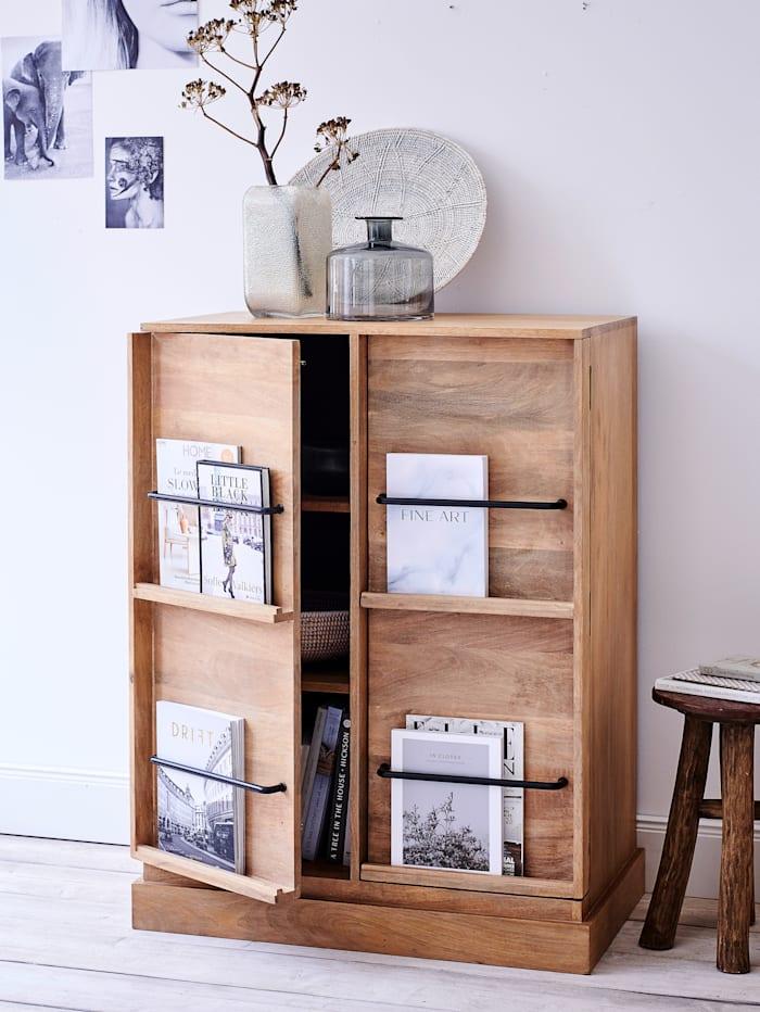 IMPRESSIONEN living Schrank mit Zeitschriftenhalter, natur