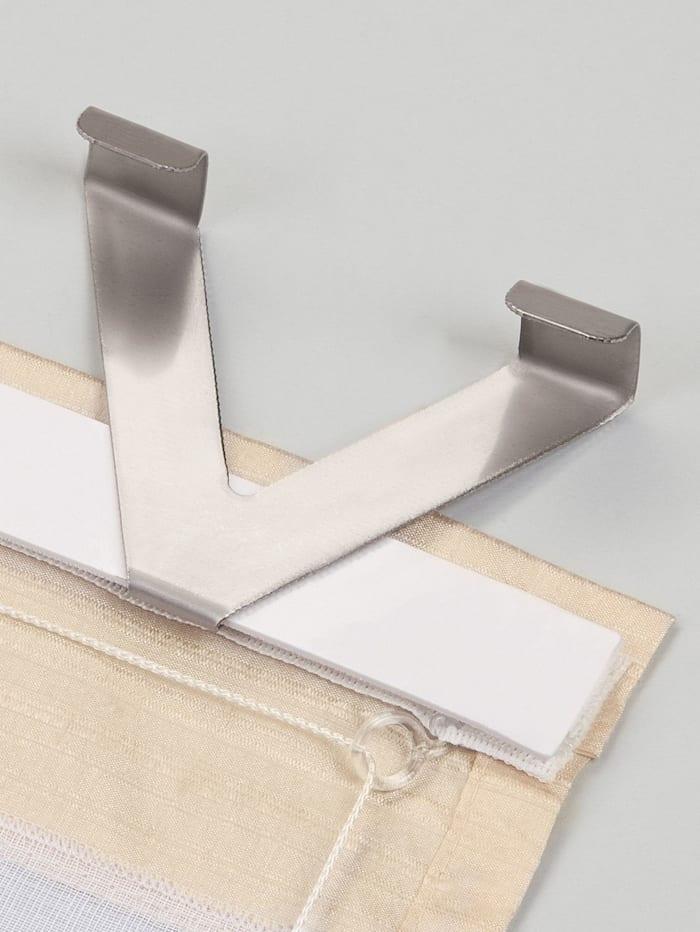Home Wohnideen Zubehör für Raffrollo, aluminium