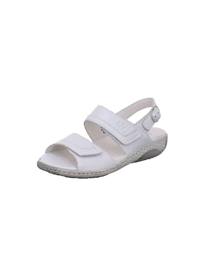 Waldläufer Sandale Sandale, weiß