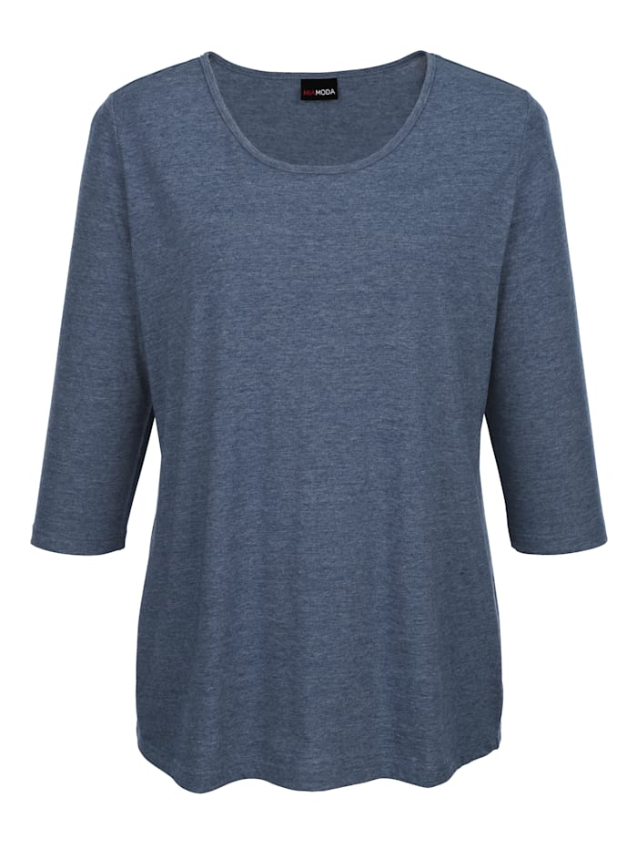 Shirt in kurzer Länge