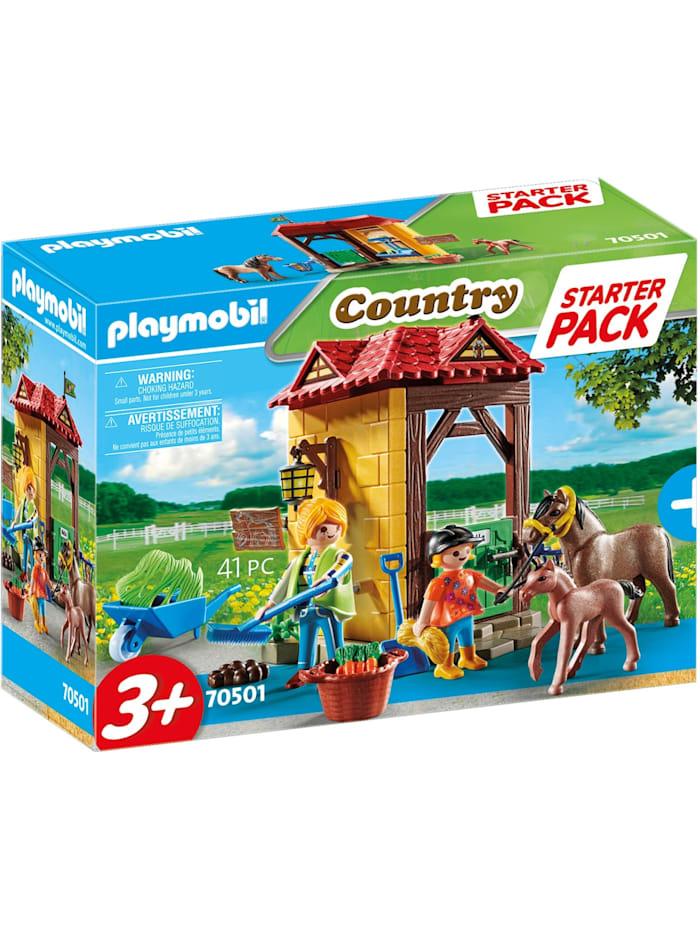 PLAYMOBIL Konstruktionsspielzeug Starter Pack Reiterhof, Bunt