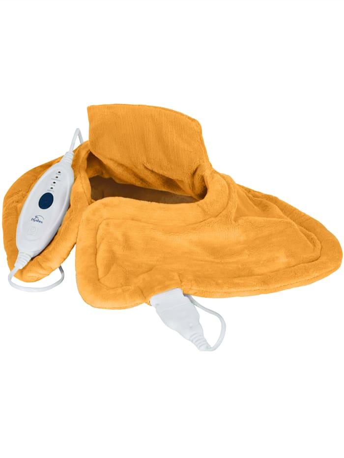 Hydas Coussin chauffant pour le cou à chaleur intense, Orange