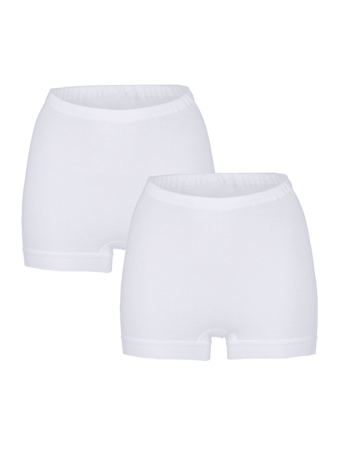 Schiesser Shorties de la collection Schiesser CLASSICS Lot de 2, 2x blanc
