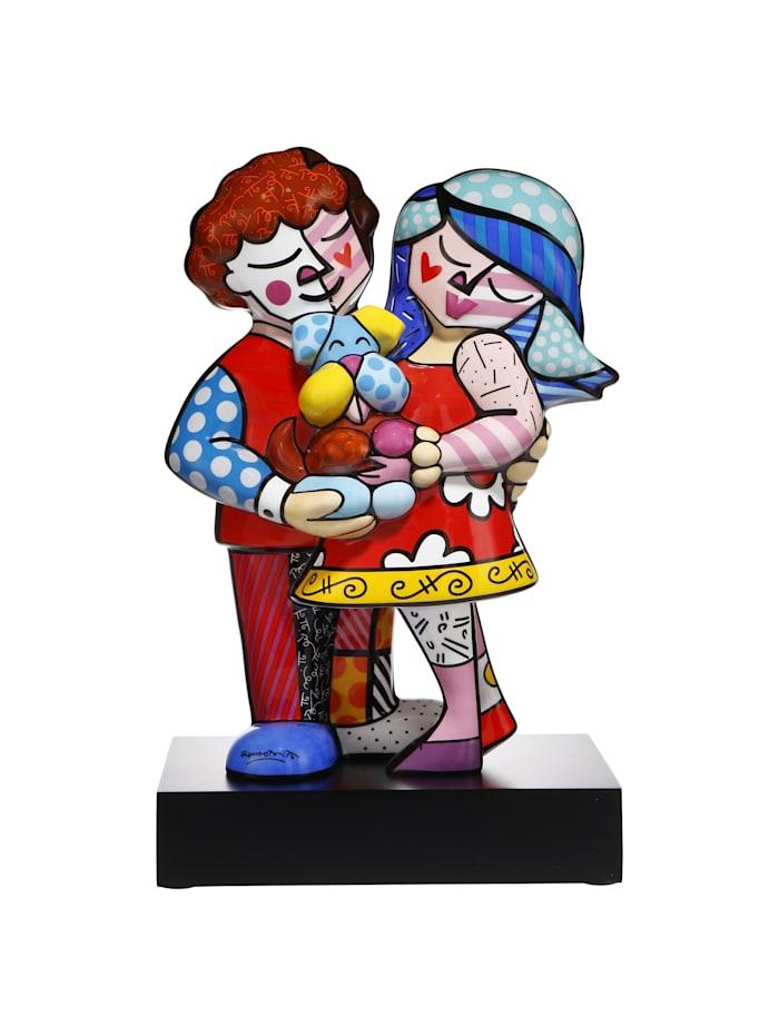 """Goebel Goebel Figur Romero Britto - """"Pet's Love"""", Bunt"""