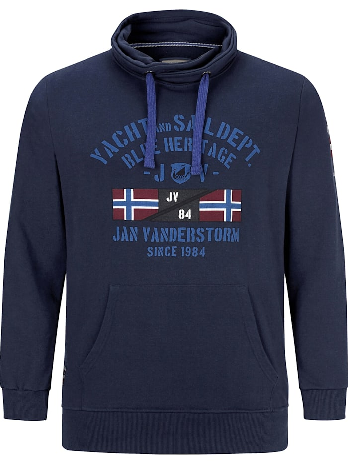 Jan Vanderstorm Jan Vanderstorm Sweatshirt FAPI, dunkelblau