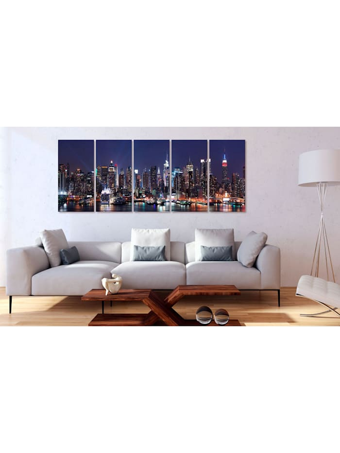 Wandbild New York: Live by Night