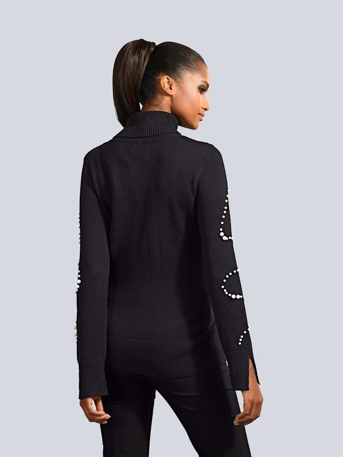 Pullover mit Schmuckperlen Verzierung