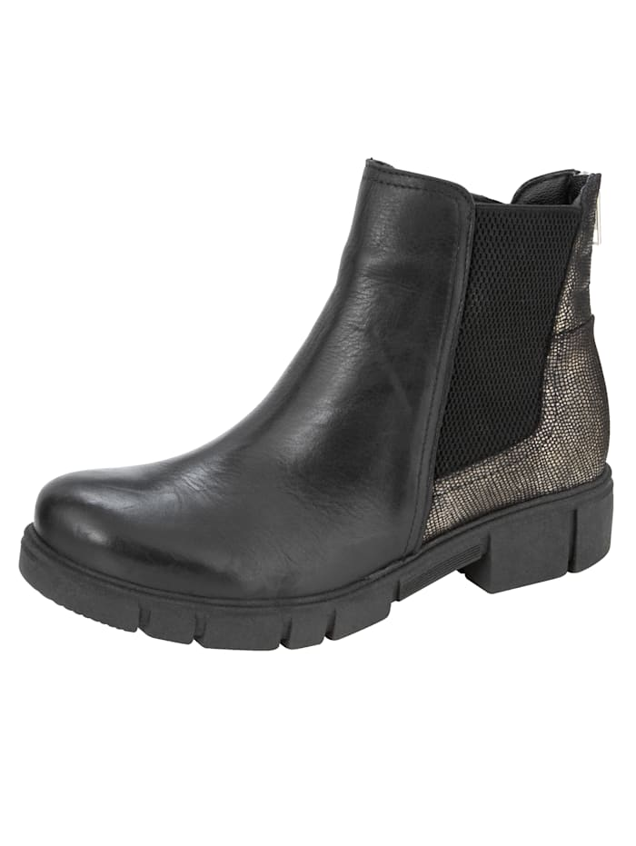 Chelsea Boots with elasticated insert