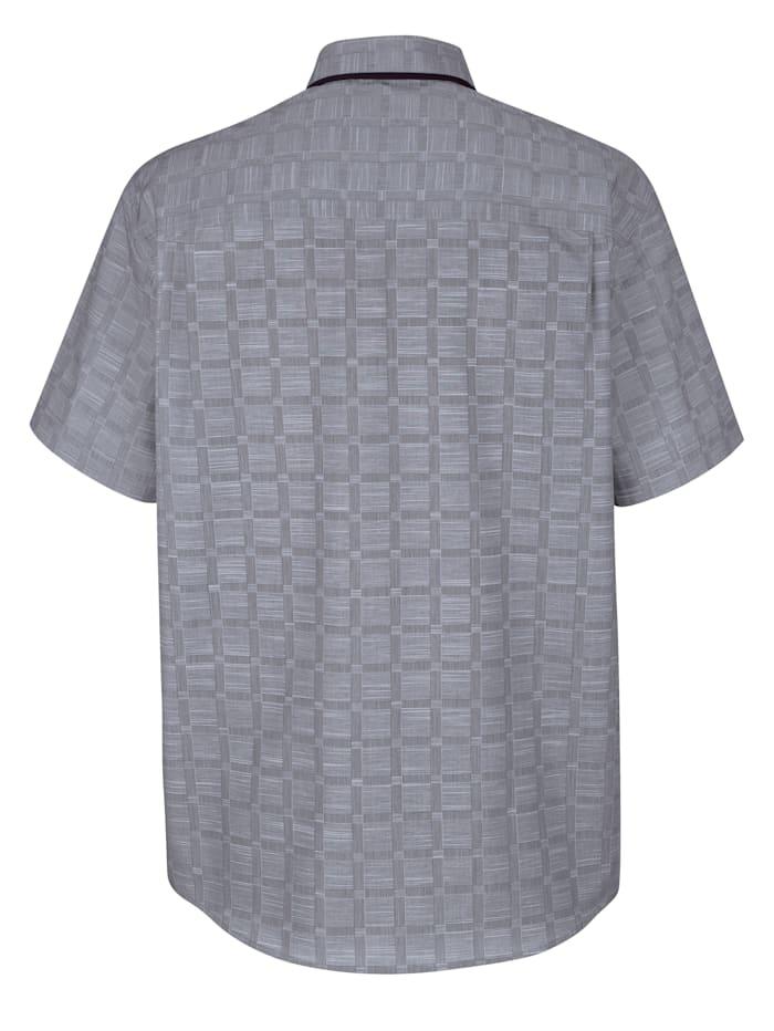 Chemise à carreaux tissés-teints