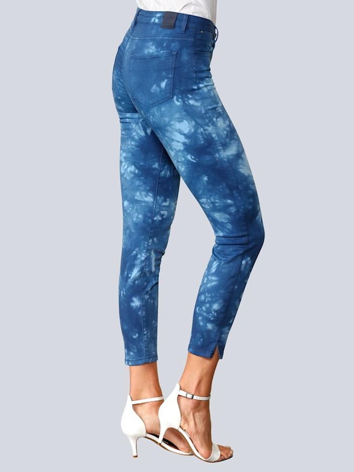 Jeans 'Shakira S' im Batikdruck