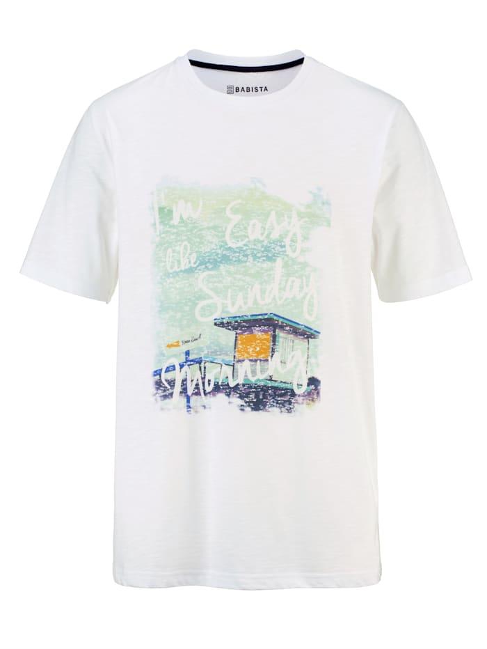BABISTA T-Shirt mit Print, Weiß