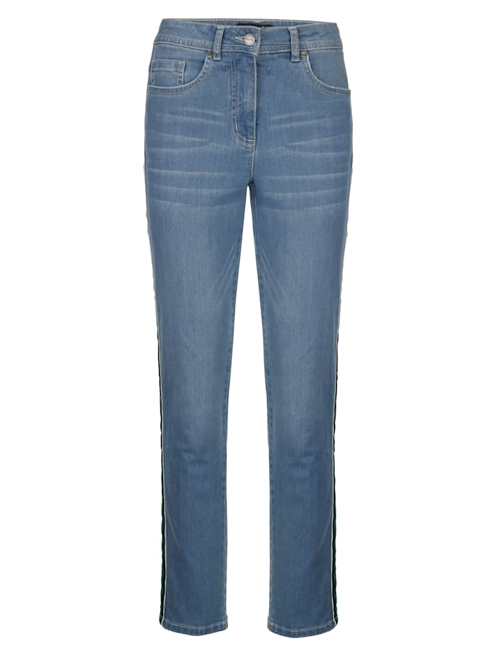 3/4-jeans in model Sabine Slim