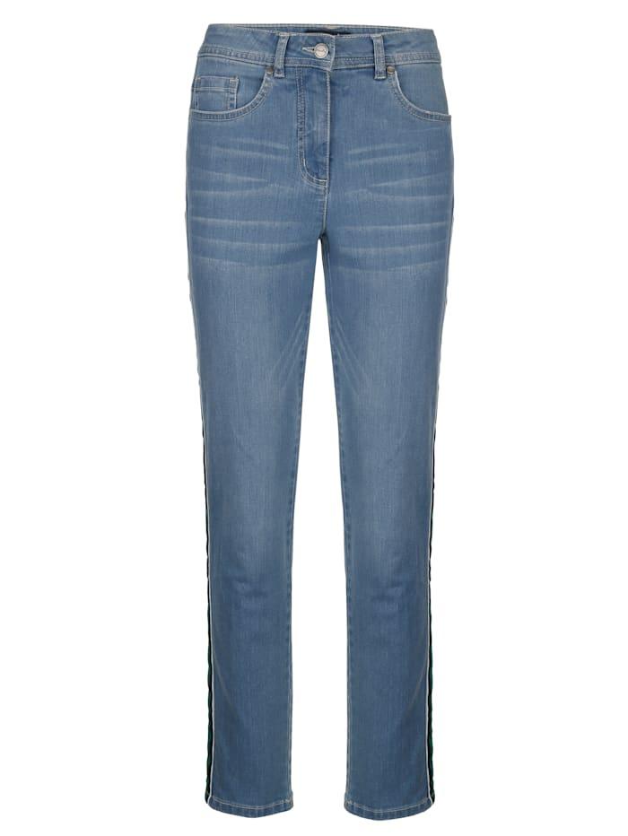 Ankellang jeans -Sabine slim-
