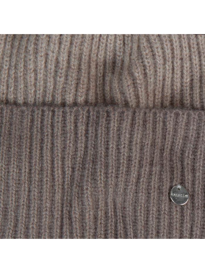 Mütze aus Wolle mit Kaschmir