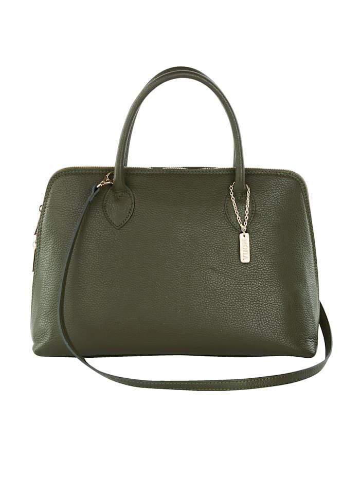 MONA Handbag with detachable scarf, Olive