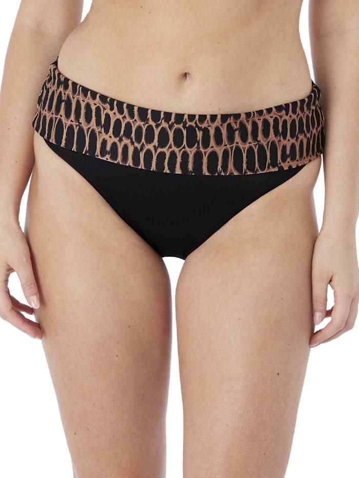 Bikini-Hose mit Umschlagbund STANDARD 100 by OEKO-TEX zertifiziert