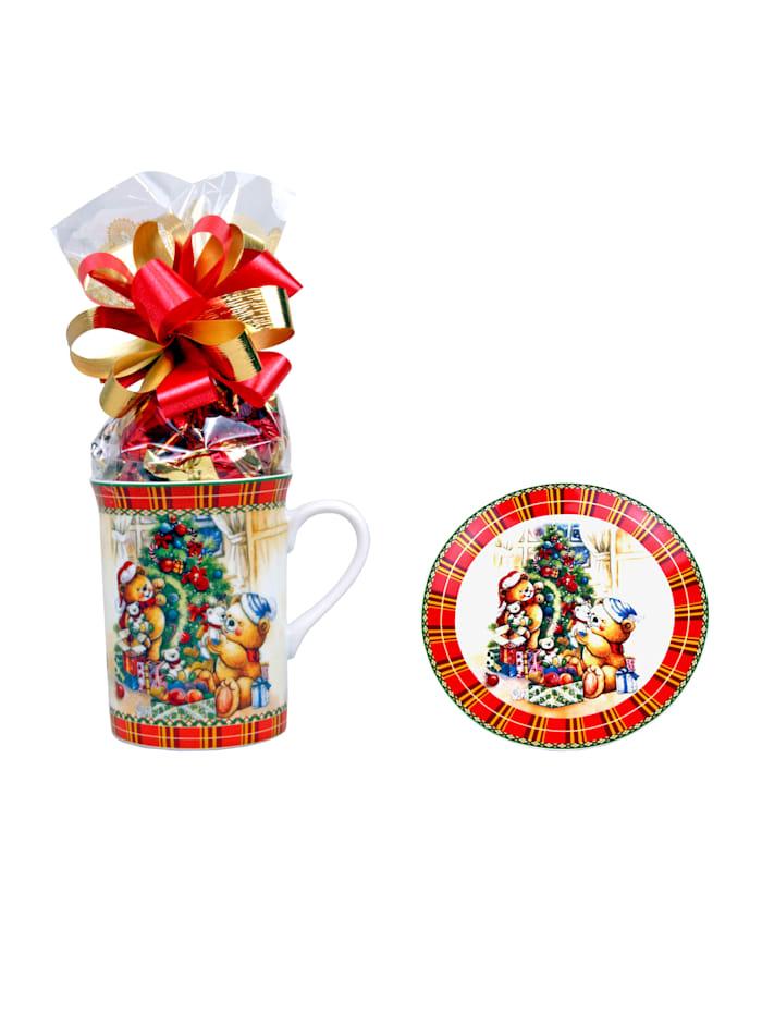 Pfeiffer & Sperl Gevulde koffieset, Multicolor
