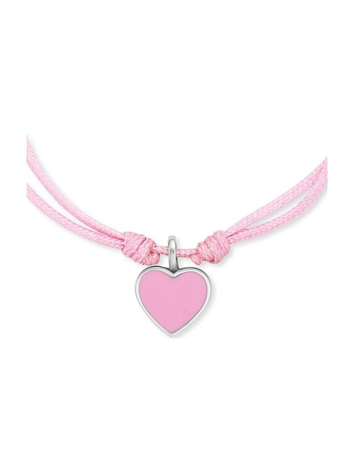Engelsrufer Mädchen-Armband 925er Perlon/Nylon