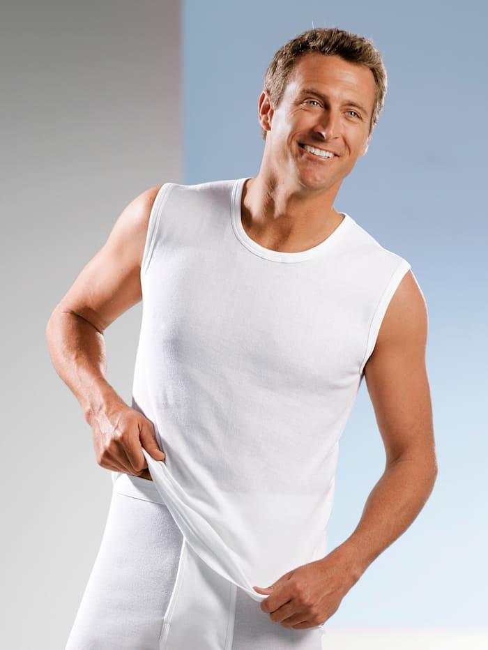 Mouwloze shirts per 3 stuks van merkkwaliteit