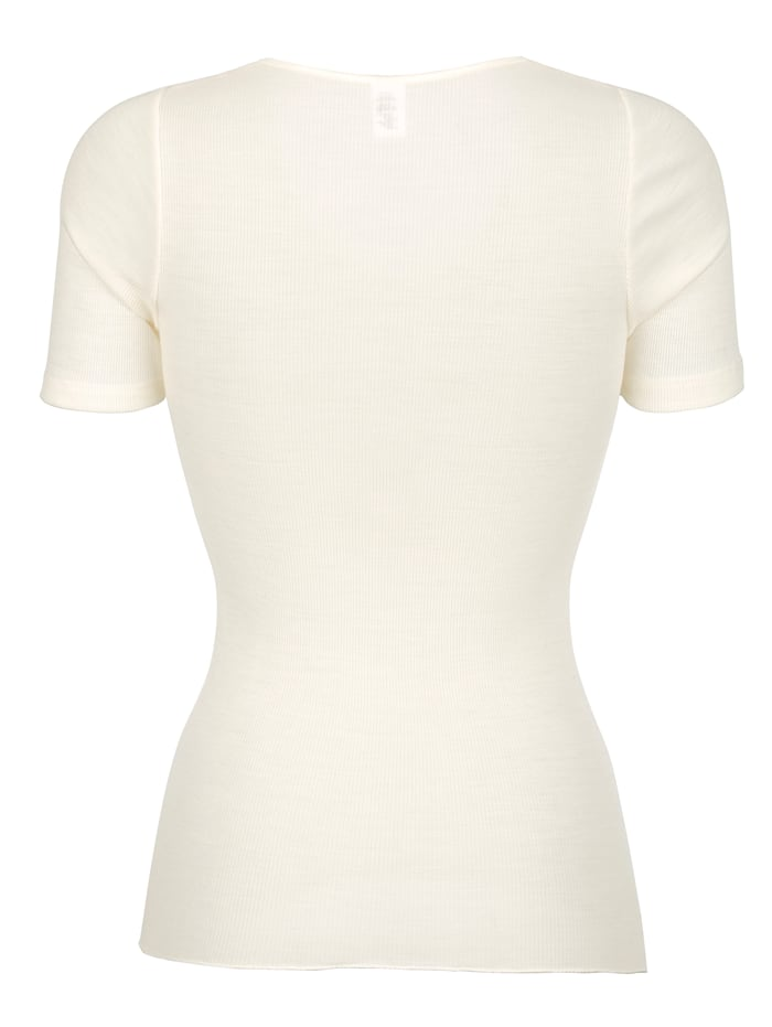 Shirt mit hohem Wollanteil