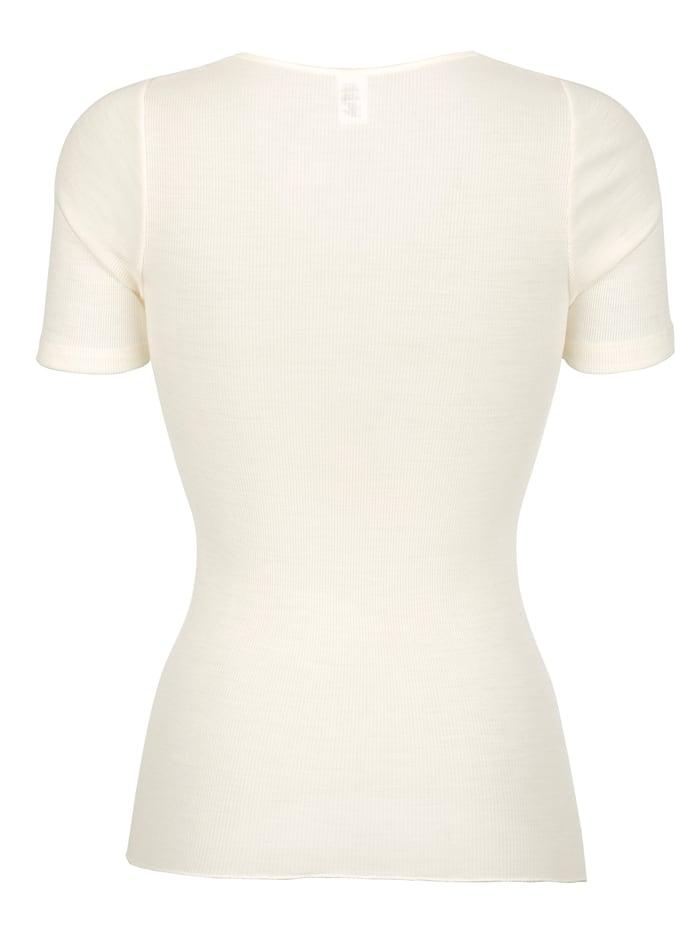 T-shirt en laine mélangée