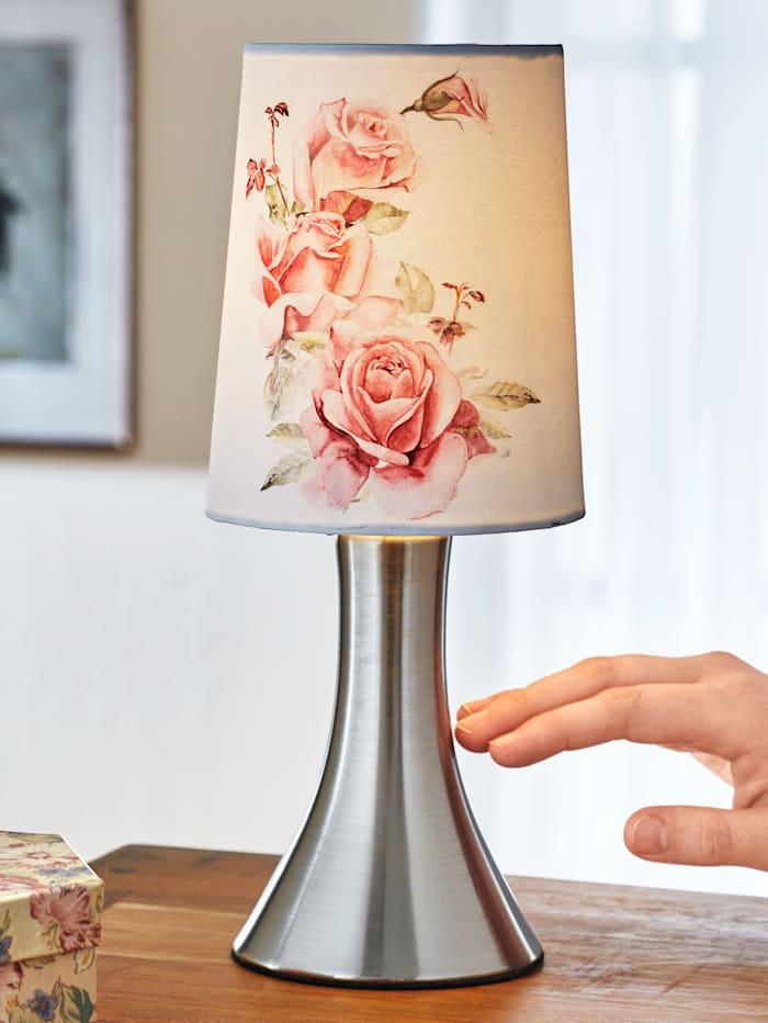 Touchlampa med rosor