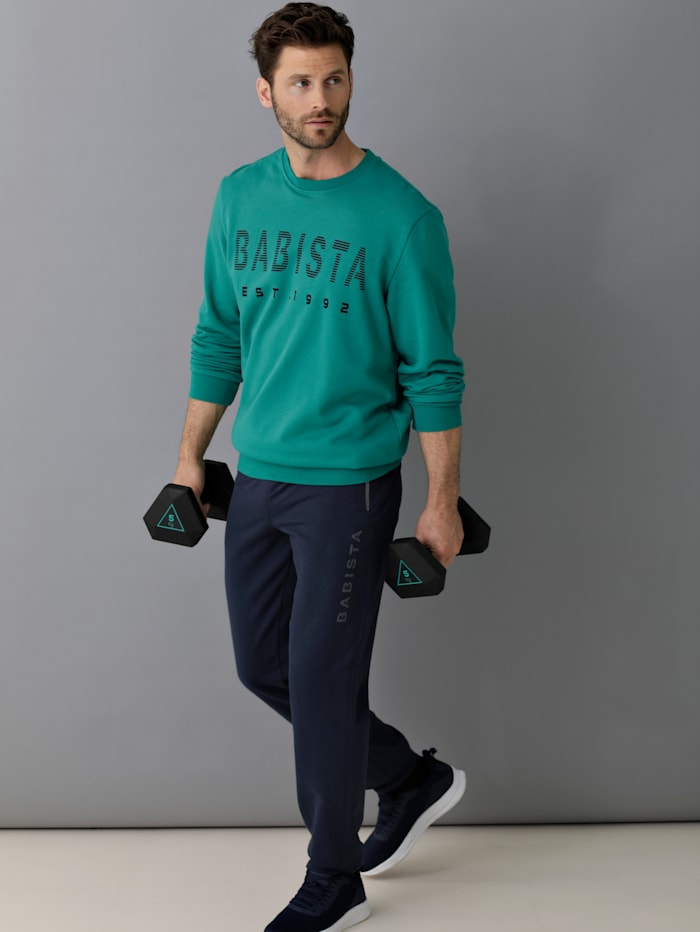 BABISTA Sweatshirt met zachte binnenkant, Groen