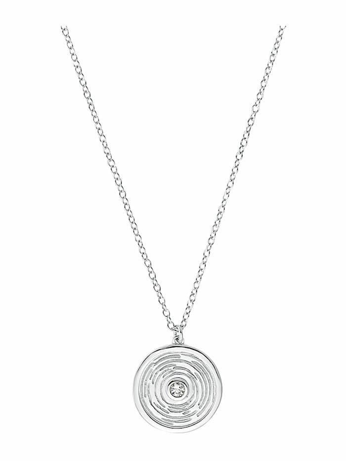 amor Kette mit Anhänger für Damen, Sterling Silber 925, Silber