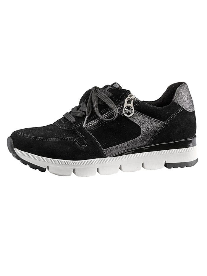 Marco Tozzi Sneaker mit herausnehmbarem Fußbett, Schwarz