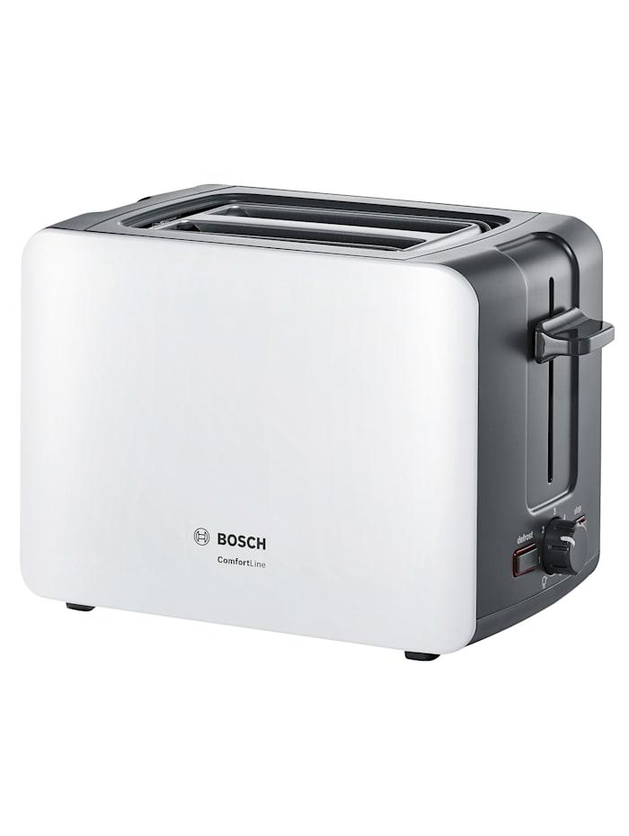 Bosch Brødrister ComfortLine, hvit/mørkegrå