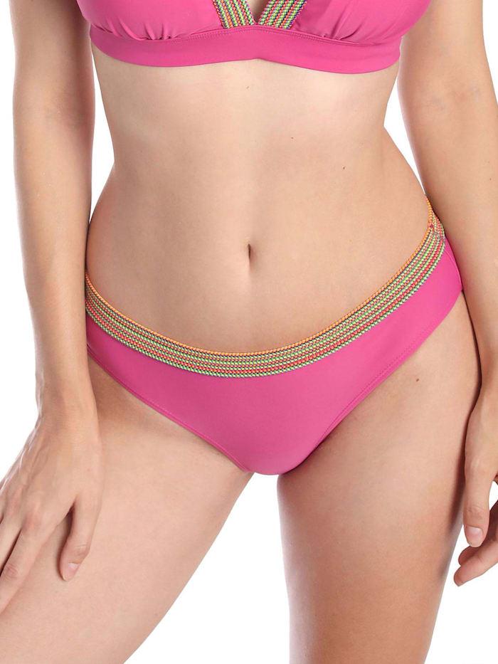 sassa Bikini Slip COLORFUL STRIPE, pink