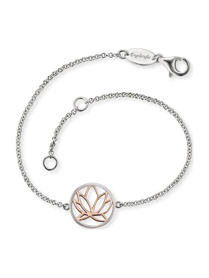 Engelsrufer Engelsrufer Damen-Armband Lotus 925er Silber, silber