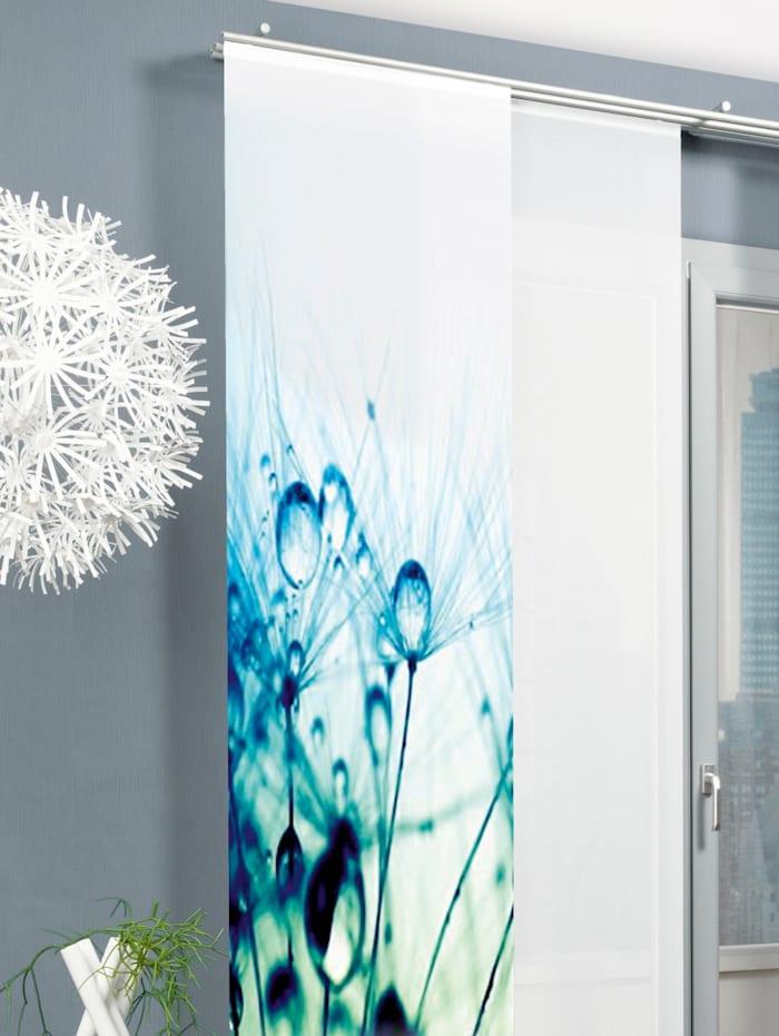 Home Wohnideen Panneau japonais 'AVIGNON', Océan/bleu