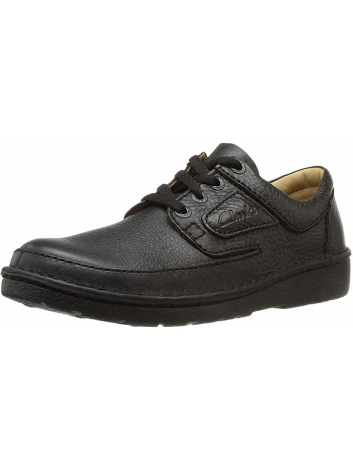 Clarks Schnürschuh Schnürschuh, schwarz